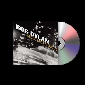 Bob Dylan Modern Times CD portada disco luces edificios y coche pasando rapido
