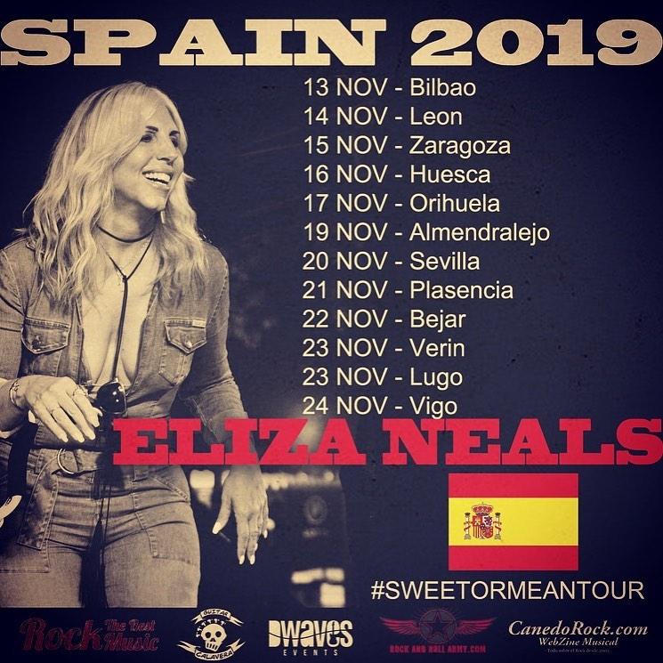 Eliza Neals Gira Española