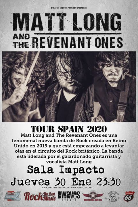 Matt Long and the Revenant Ones Plasencia
