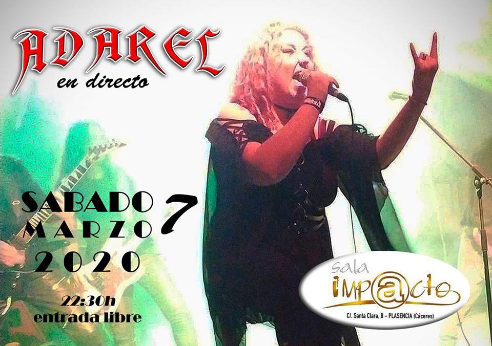 Adarel concierto en Plasencia