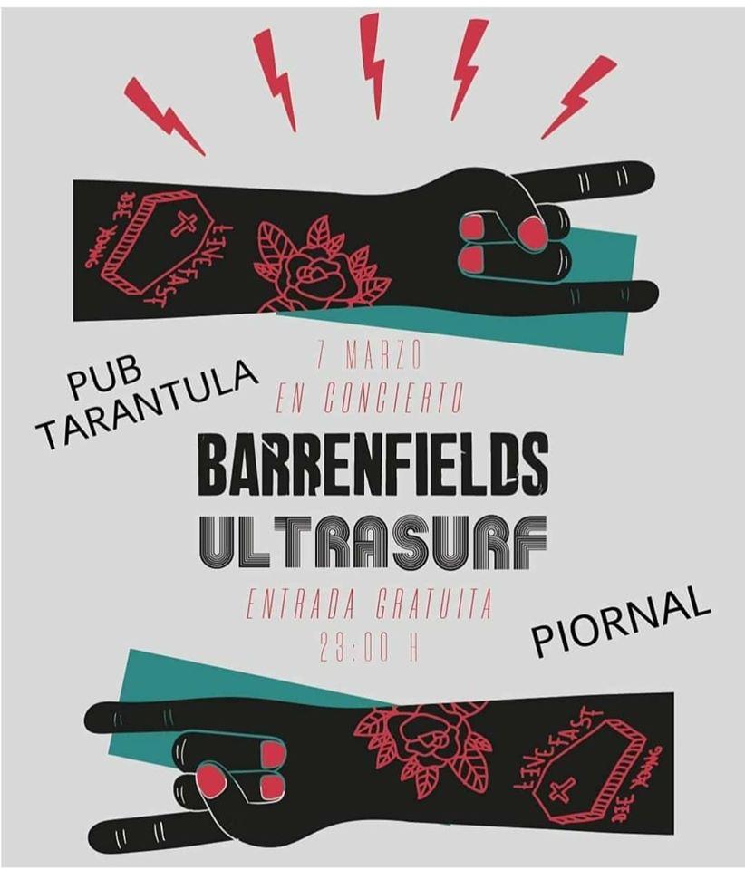 Barrenfields y Utrasurf en Piornal