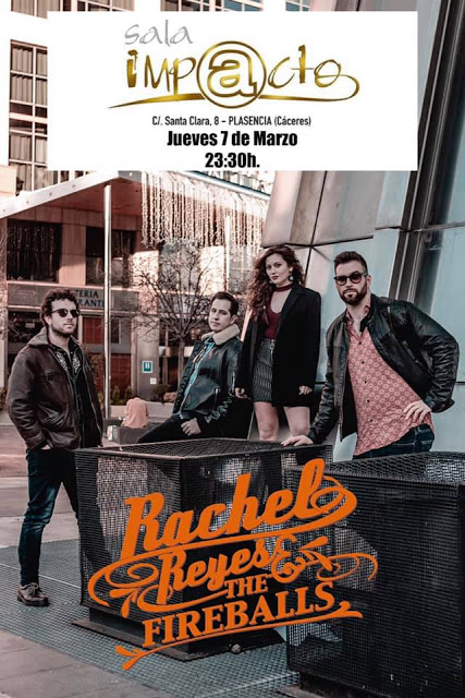 Rachel Reyes & The Fireballs