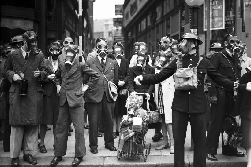 Respiremos. Londres, 1941. Fotografía Getty