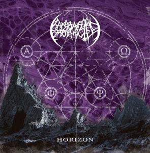 Portada Horizon de Barbarian Prophecies